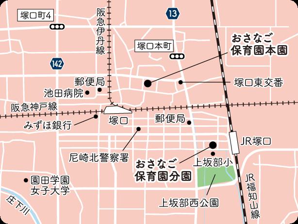 アクセスマップ/周辺地図